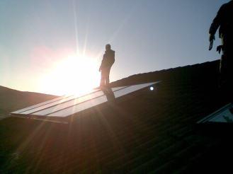 montaj panouri solare rehau,stocon,bacau