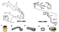 Porsche 911SC and 930 Turbo Oil Hose Lines and Fittings 2 ...