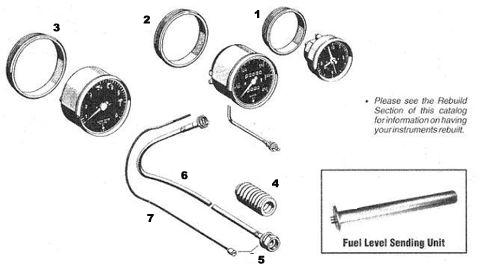 Porsche 911 Speedometer Cable