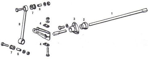 Porsche 911 Front Suspension Anti-Roll Bar / Sway Bar