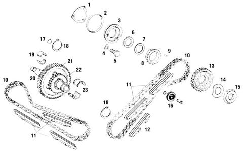 Porsche 911 Camshaft and Chain Timing Parts