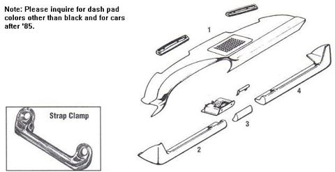 Porsche 911 Dashboard Components