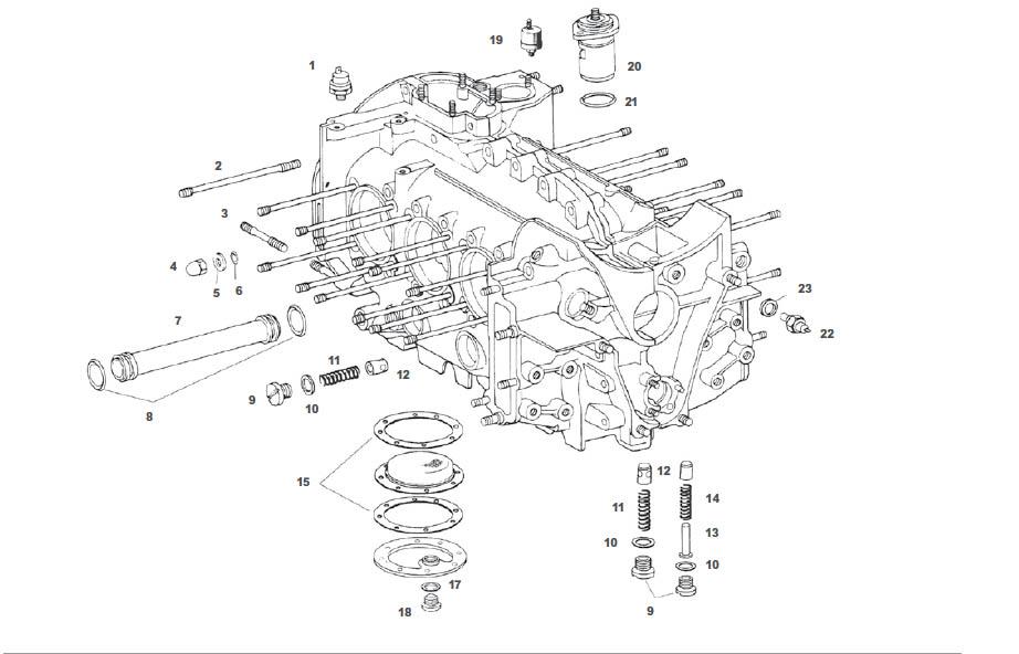 Porsche 911 964 Engine Case and Gaskets
