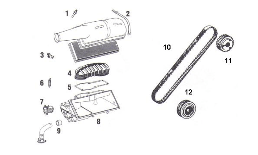 Porsche 911 Fuel Injection Parts for MFI and CIS (1973.5)