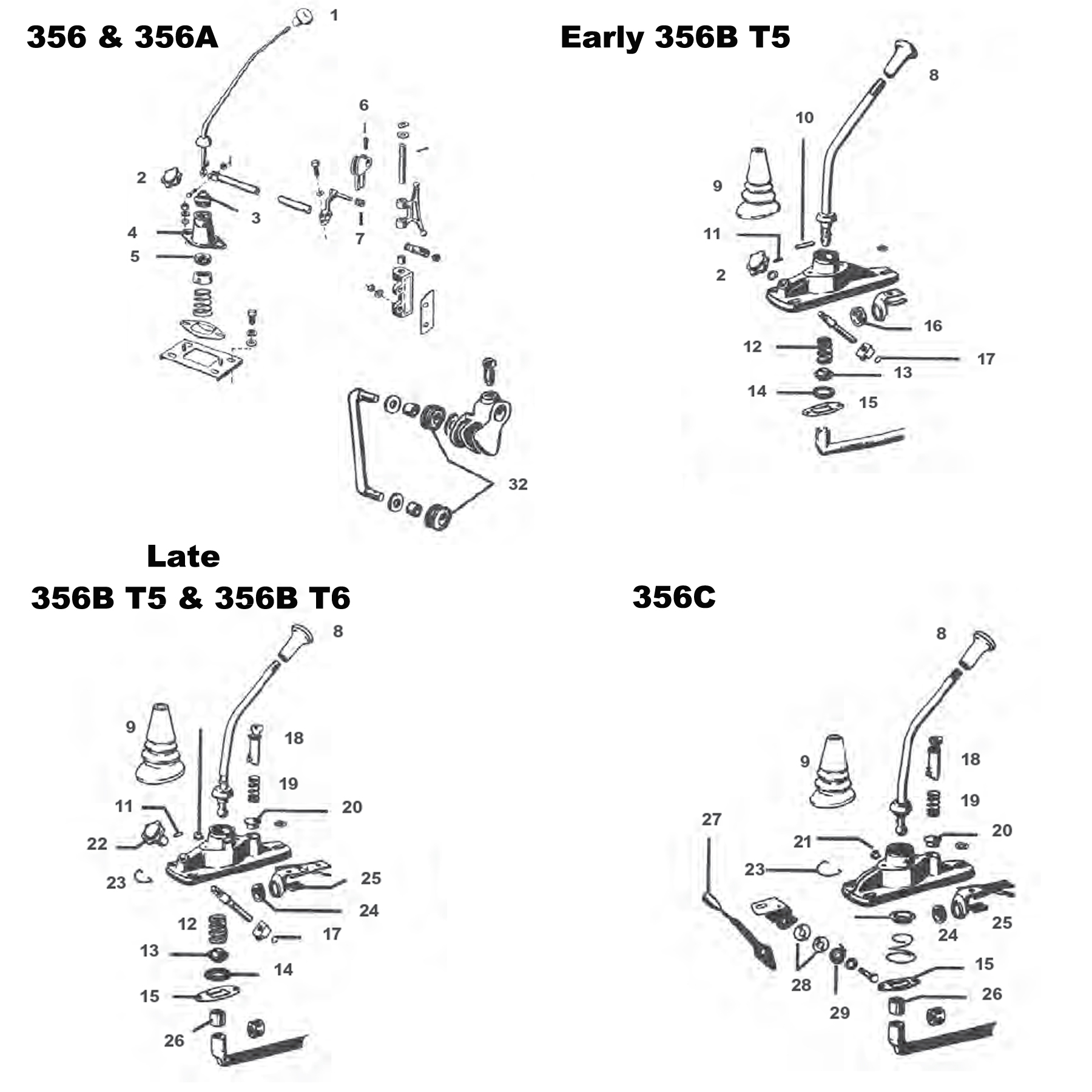 hight resolution of shift lever components
