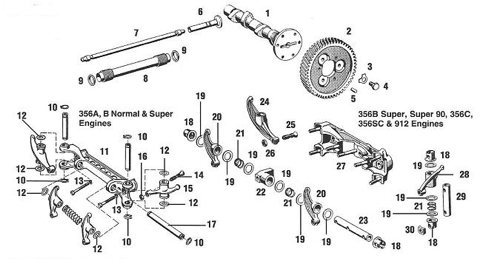 Engine Valve Train Diagram, Engine, Free Engine Image For
