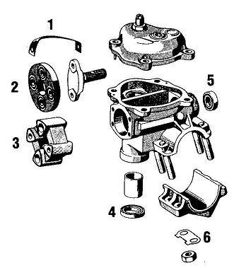 Porsche 356 Steering Box. VW and ZF
