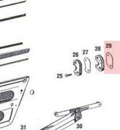 90153170324 Shim For StrikerFits 911 1965-76 912