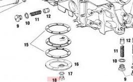 91110717603 Oil Tank Drain Plug Fits 911 1965-89 930