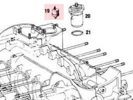 90174155102 Oil Pressure Sending Unit Fits 911 1965-89 930