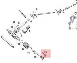 91134732204 Outer Tie Rod End 2 req'd. Fits 911 / 912 1965