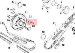 99610113780 Intemediate Shaft Bearings, Large Flanged, 2