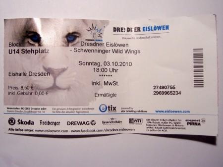ESC-Wild Wings 03.10.2010