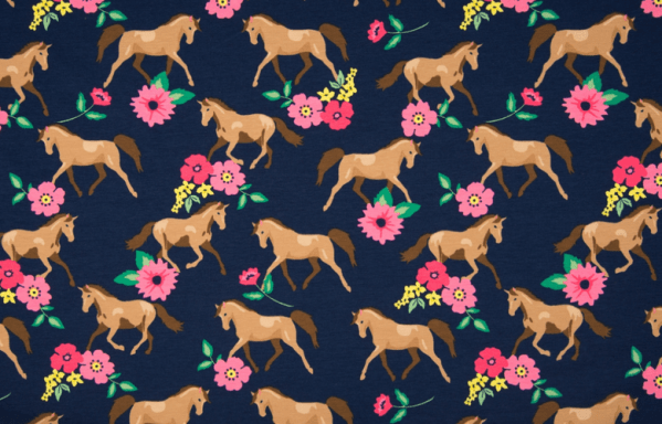 Horse and Flowers Jersey