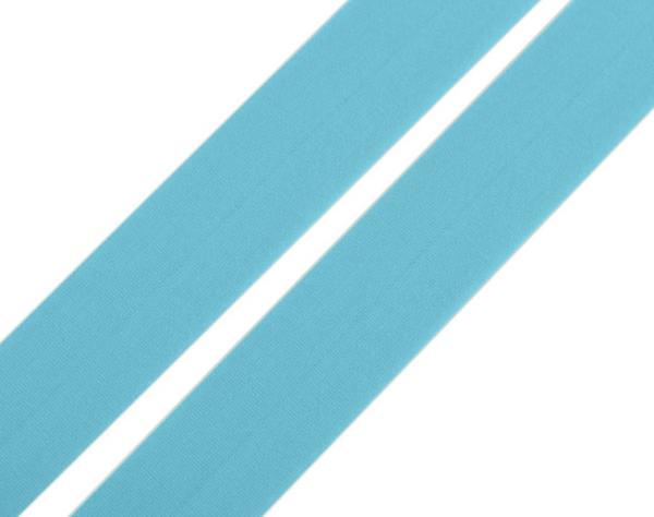 Faltgummi matt, Breite 20 mm, hellblau
