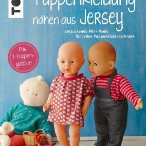 Puppenkleider aus Jersey nähen
