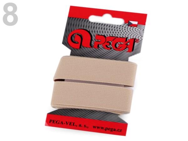Gummiband glatt Breite 20 mm, diverse Farben