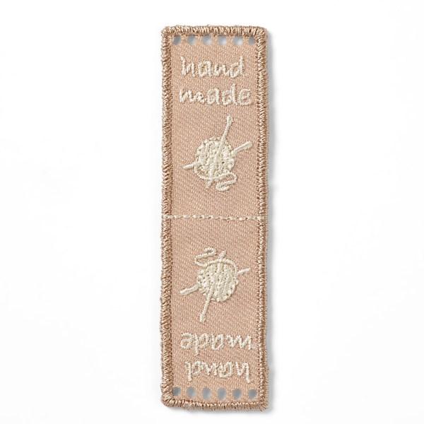 Prym handmade label beige