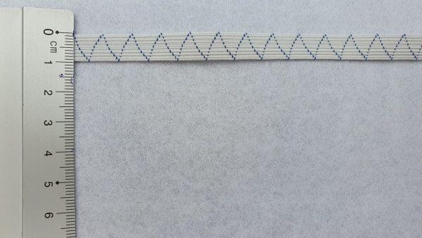 Börtelgummi weiß, 10mm