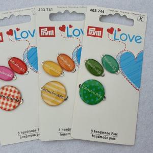 """Prym Love Label """"handmade"""", diverse Farben"""