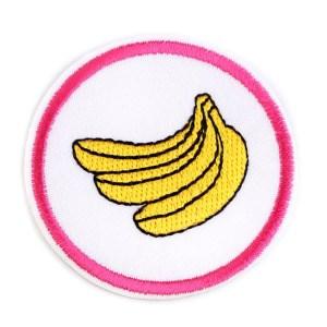 Applikation zum Aufbügeln, Banane