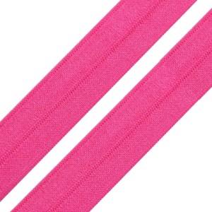 Faltgummi glänzend, Breite 20 mm, pink