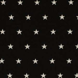 Baumwolle Star Black