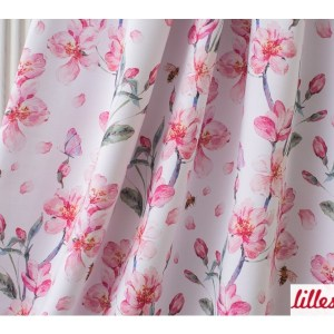 Lillestoff Cherry Bouquet, Jersey