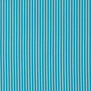 Baumwolle Stripe aqua
