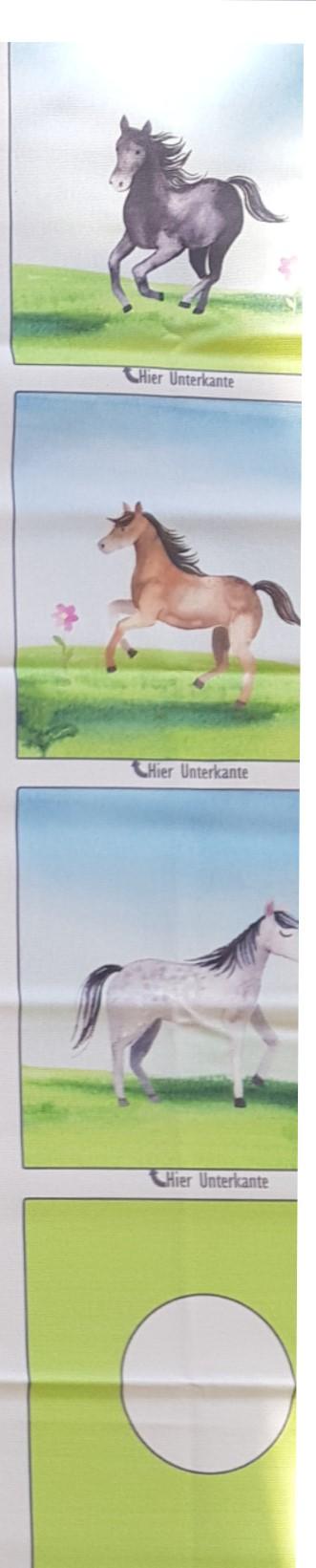 Nähset Tasche Tonieboxhülle Pferd, Canvas