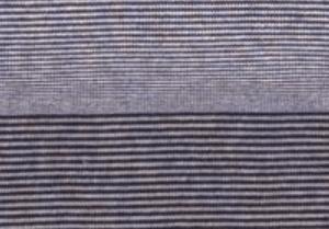 Ringelbündchen -Dunkelblau/Weiß (Farbe D)