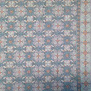Lillestoff Kacheln blau, Jersey