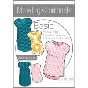 Damen Basic Blusen-Shirt 32 - 50