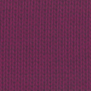 Hipster Square Knit Knit ciclam./blue