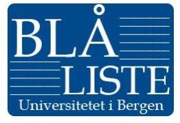 blå liste