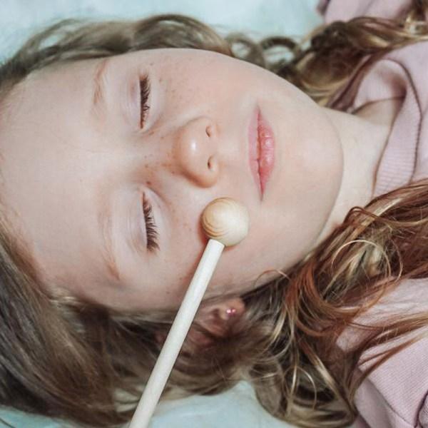 Zirbenholz, entspannungsstab, zur Beruhigung, Wohlfühlen, Zirbal, Baby, Kind, Entspannung, Schlaf fördern, Holzstab