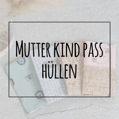 Personalisierte Mutter Kind Pass Hüllen