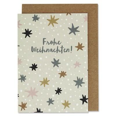 Klappkarte, Advent, Sterne,HäuserStofftiger, Ava & Yves, Postkarte, Grußkarte, Karte, Glückwunschkarte, Klappkarte, Karte zur Geburt, Geburtskarte, Geburtsgeschenk, Glückwünsche, Baby, Weihnachten, Frohe Weihnachten, Frohes Fest