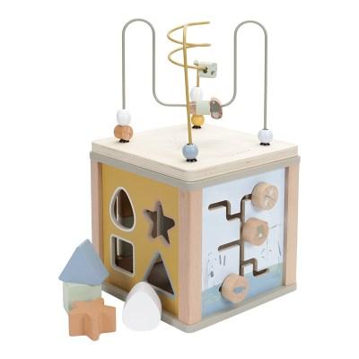 Holzspielzeug, Holzturm, Little Dutch, personalisiertes Spielzeug, Personalisierte Geschenke, personalisiert, Babygeschenke, mit Namen, Geburtsdaten, Taufe, Taufgeschenke, Geschenke zur Taufe, Geschenke zur Geburt, Geburtsgeschenke, Taufgeschenke, Geburt, Baby, Newborn, Stofftiger, Geschenkidee, Holz, motorikwürfel, Aktivitätenwürfel, Acitvity Cube,