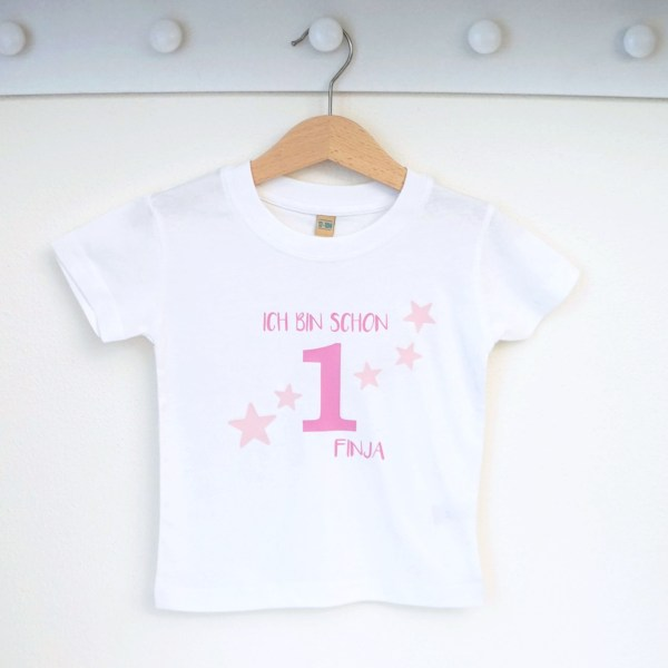 Babyshirt, Tshirt, Geburtstagshirt, Geburtstag, Erster Geburtstag, Zweiter Geburtstag, Dritter Geburtstag, Vierter Geburtstag, Fünfter Geburtstag, Sechster Geburtstag, Siebter Geburtstag, Achter Geburtstag, Geburtstags-T-Shirt, T-Shirt Kinder