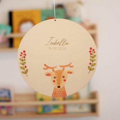 Türschild, Holzschild, Namensschild,Kinderzimmer, Deko, Bär Personalisierte Fahne, LED Lampen, kinderlampen, kinderzimmer, lampe, Dekoration, kinderzimmerdeko, geburtsgeschenk, taufgeschenk, geburtstagsgeschenk, leuchte, stofftiger, geschenkidee