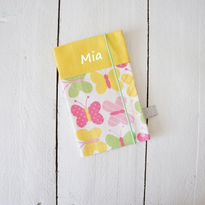 Mutter Kind Pass Hülle, Muki Hülle, Schutzhülle, Mutter-Kind-Pass-Hülle, Mutterkindpasshülle, Mutterkindpass, Mutter Kind Pass, Österreich, Personalisiert