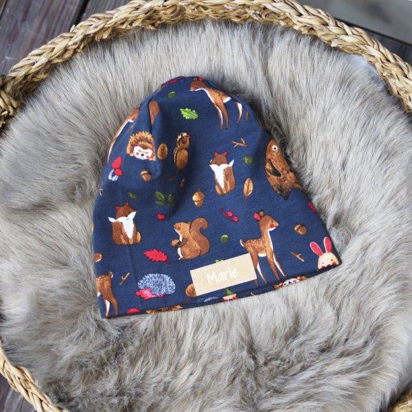 Haube, Mütze, Personalisiert, Mit Namen, Personalisierte Haube, Personalisierte Mütze, Kinderhaube, Kindermütze