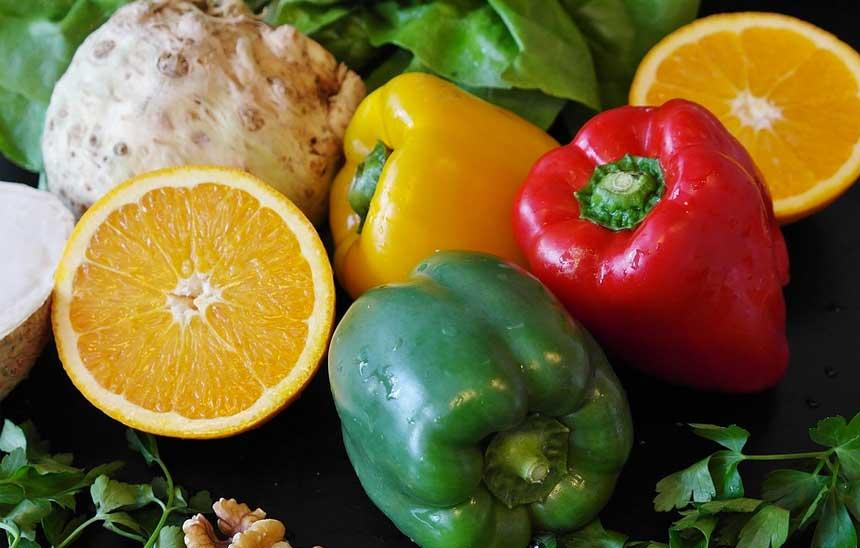 Salat Paprika
