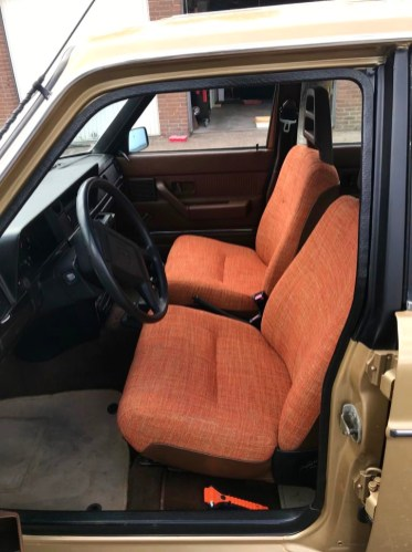 Volvo stoelen