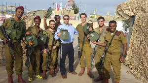 Ari Fuld and Soldiers