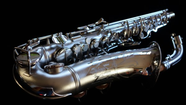 That same Conn 6M after cleaning and polishing.