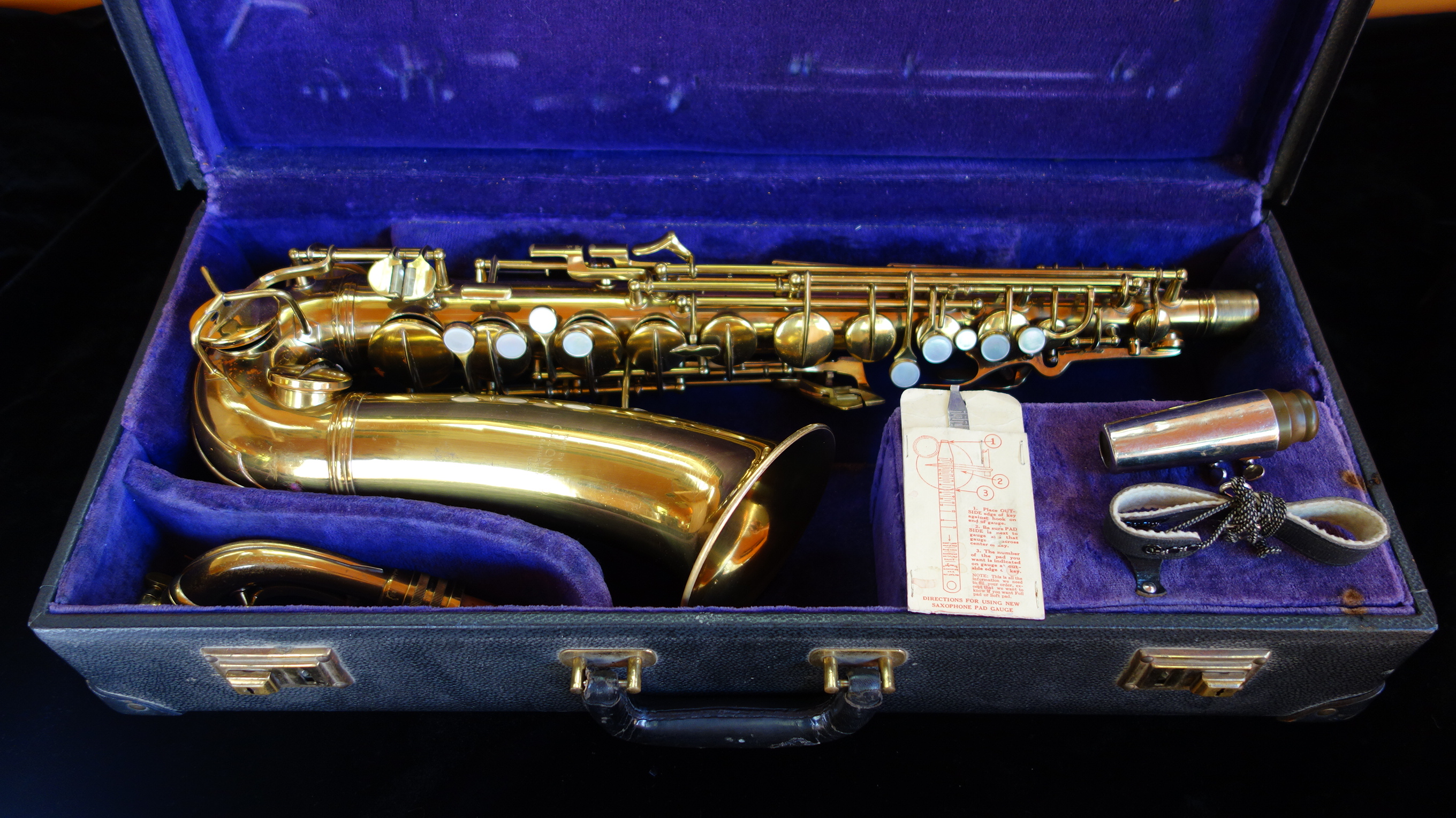 1933 Conn 6M Transitional Alto Saxophone « Stohrer Music