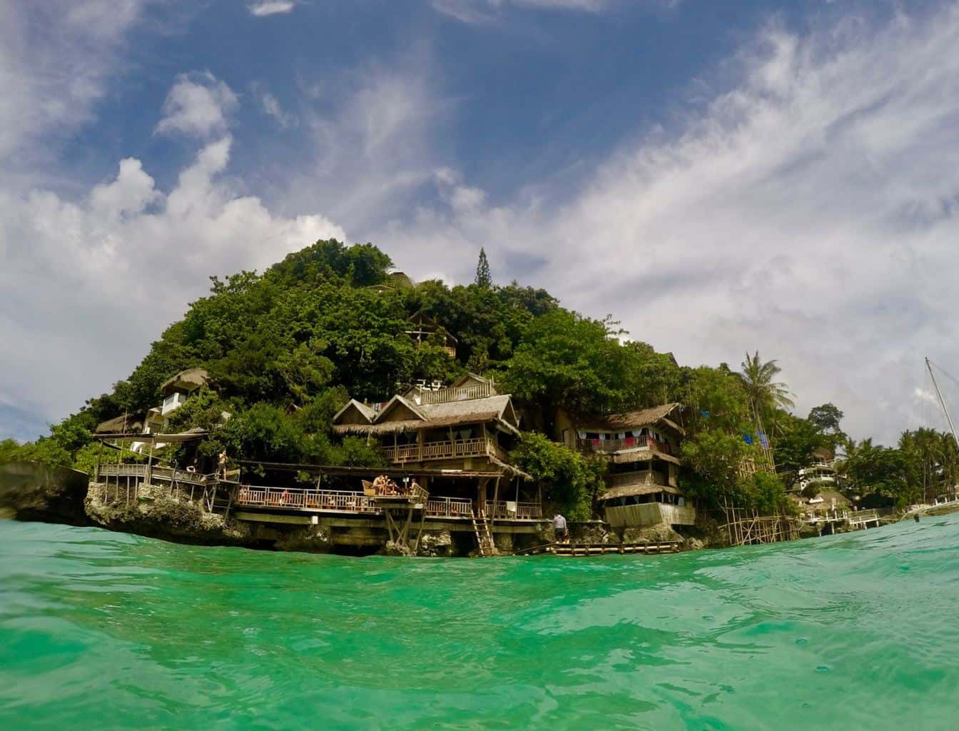Spider house boracay philippines pictures