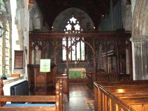 Inside the Church of St Margaret of Antioch